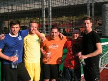 Hurford Salvi Carr Property Management 5-a-side Football Team Picture